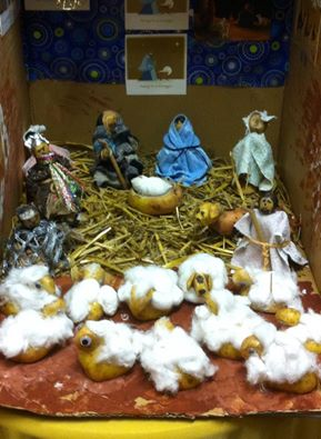 potato nativity